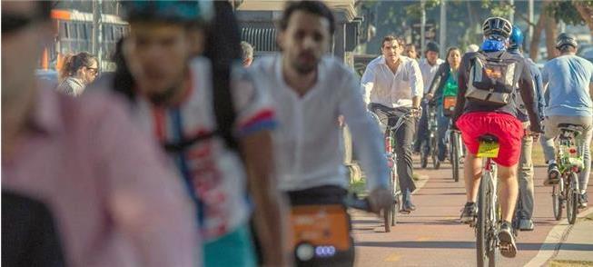 Ciclovia em São Paulo