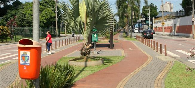 Ciclovia na avenida Kennedy, em São Caetano: 2,5 k