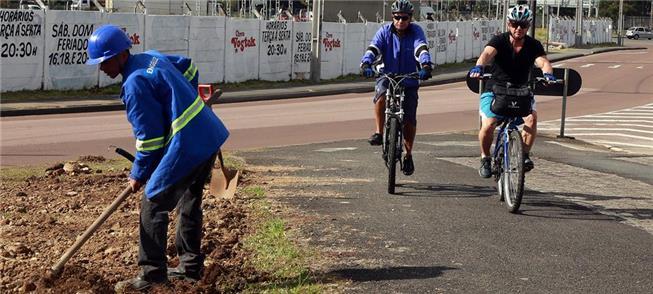 Ciclovias de Curitiba vão ganhar novo sistema de i