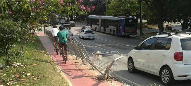 Ciclovias: faltam medidas para 'acalmar o tráfego'