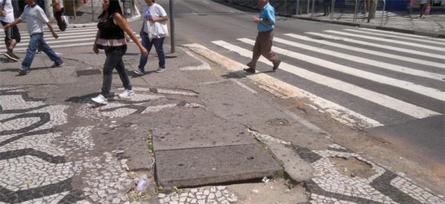Cidadãos são corresponsáveis pelas calçadas