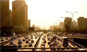 Cidade com grande índice de congestionamento