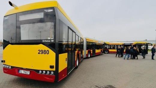 Cidade da Polônia adota novos ônibus Solaris Urbin