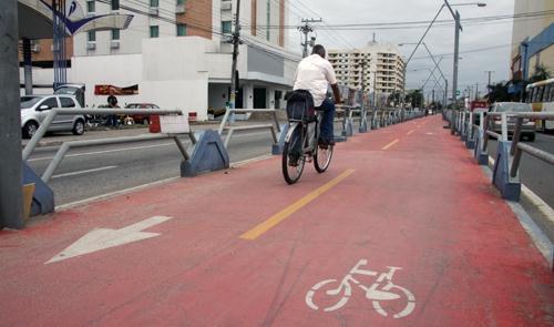 Cidade ganhou 400% a mais de ciclovias