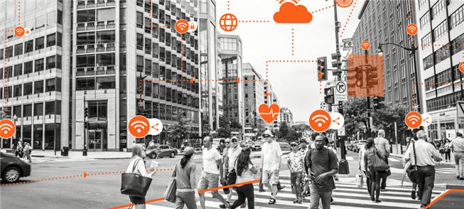 Cidades monitoradas via smartphones
