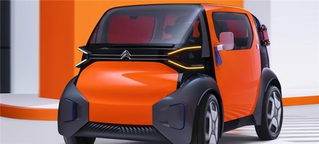 Citroën Ami One: a versatilidade do 'cubo' no meio