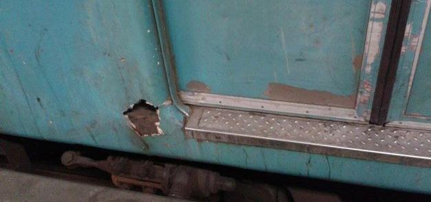 Condições dos trens trazem risco aos usuários