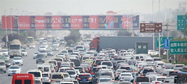 Congestionamento em Beijing