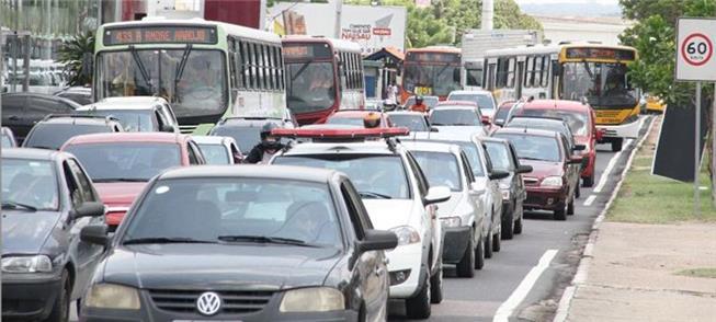 Congestionamento em Manaus