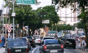 Congestionamento na região do ABCD