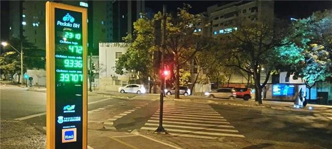 Contador de bicicletas de Belo Horizonte (MG)
