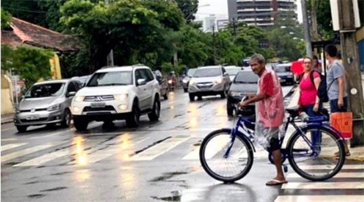 Contagem no bairro das Graças (zona norte), em mai