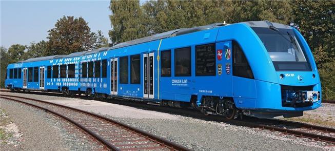 Coradia iLint, primeiro trem movido tão somente a