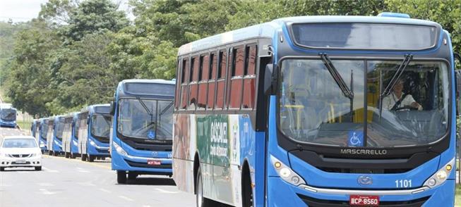 Corredores de ônibus e integração temporal, em Cas