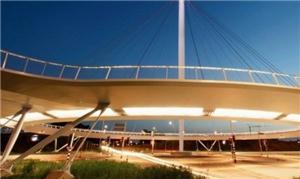 Criada em Eindhoven, estrutura suspensa aumenta a