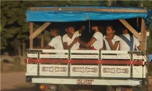 Crianças são transportadas sem segurança, denuncia