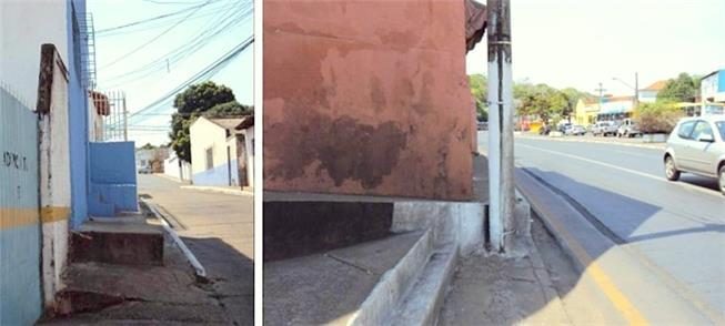 Cuiabá: calçadas em áreas renovadas para a Copa de
