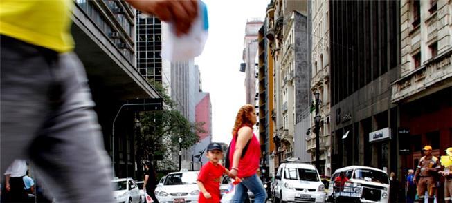 Dados servirão às políticas públicas para pedestre
