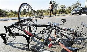 Descaso com ciclistas