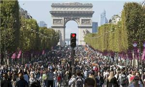 Dia sem carro em Paris