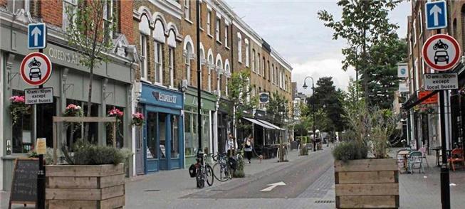 Distrito de Londres troca carros por bikes e calça