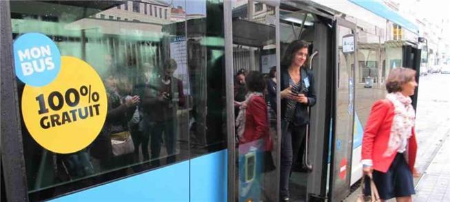 Dunquerque, na França: transporte grátis, sete dia