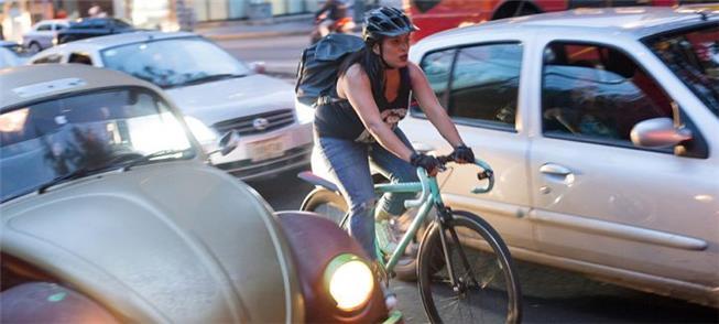 E se os ciclistas pudessem identificar os caminhos