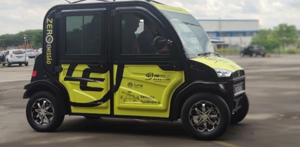 Ecotech Autônomo: carro-robô desenvolvido no Brasi