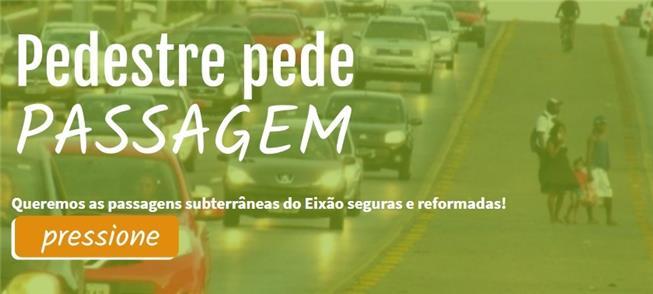 Em Brasília, o