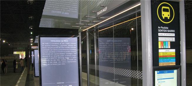 Em São Paulo, todas as paradas de ônibus terão inf