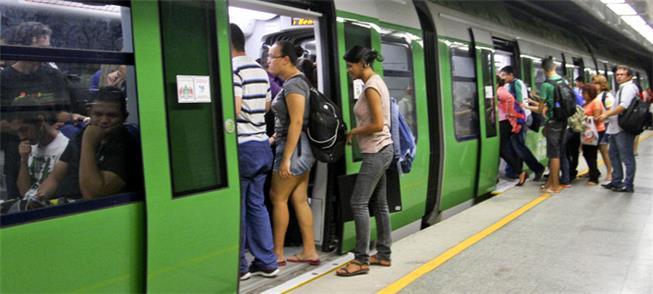 Embarque no metrô de Fortaleza (CE)