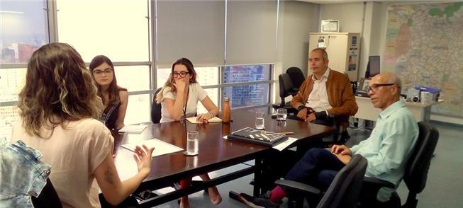 Equipe do Mobilize na reunião com Cid Torquato e a