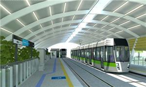Estação Aeroporto é a primeira do projeto a ser co