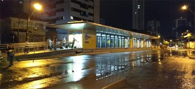 Estação Benfica do BRT é inaugurada no Recife