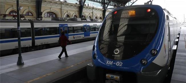 Estação Central, em Santiago: novas linhas de trem