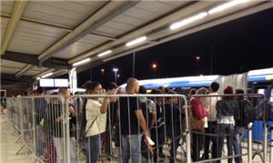Estação de BRT no Rio