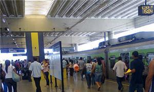 Estação de metrô em Recife