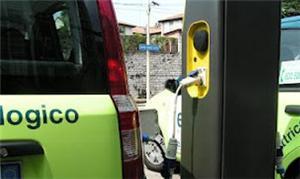 Estação de recarga de carro elétrico