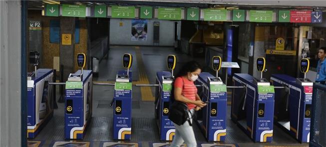 Estação Flamengo (RJ): queda no número de usuários