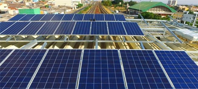 Estação Guariroba: 578 placas solares para gerar e