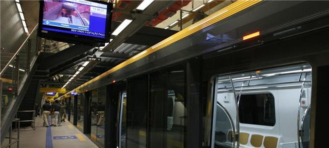 Estação Paulista da Linha 4 Amarela
