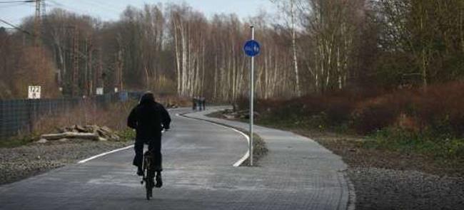 Estrada para ciclistas inaugurada na região de Ruh