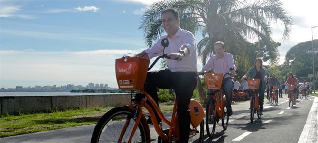 Evento celebra uso de 1 milhão de bikes públicas e