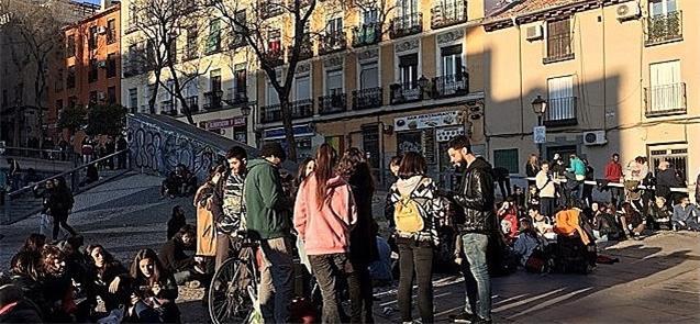 Exemplo de Madri: rua para todos (Janette Sadik-Kh