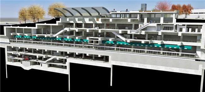 Expansão da Linha Verde: futura estação Anália Fra