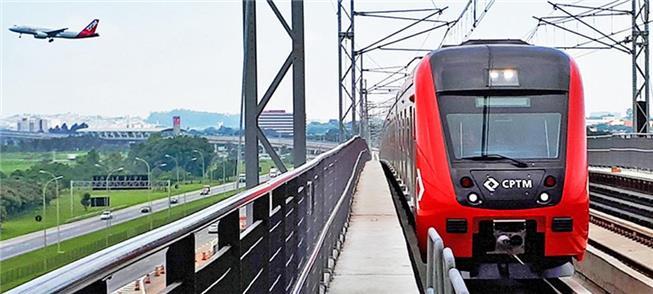 Expresso Aeroporto: trem todo dia, de hora em hora