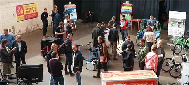 Festival e parada de cargo bikes, na Holanda. Veja