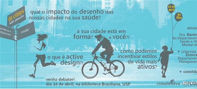 Fit Cities São Paulo, dia 16 de abril, na Bibliote
