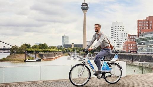 Ford lança sistema de bike share na Alemanha