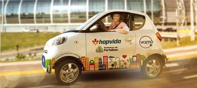 Fortaleza terá mais 7 estações de car-sharing em 2